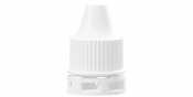 Screw cap with fixed TE-ring for Dropper bottles - System E