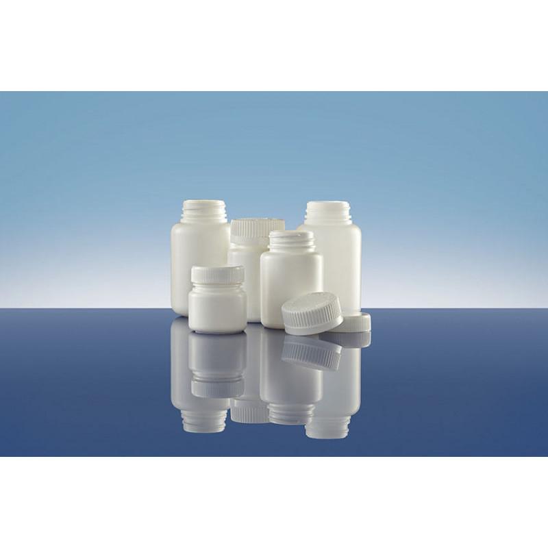 Frascos Polietileno TI 38 inviolable, packaging plástico para productos farmacéuticos (130ml)