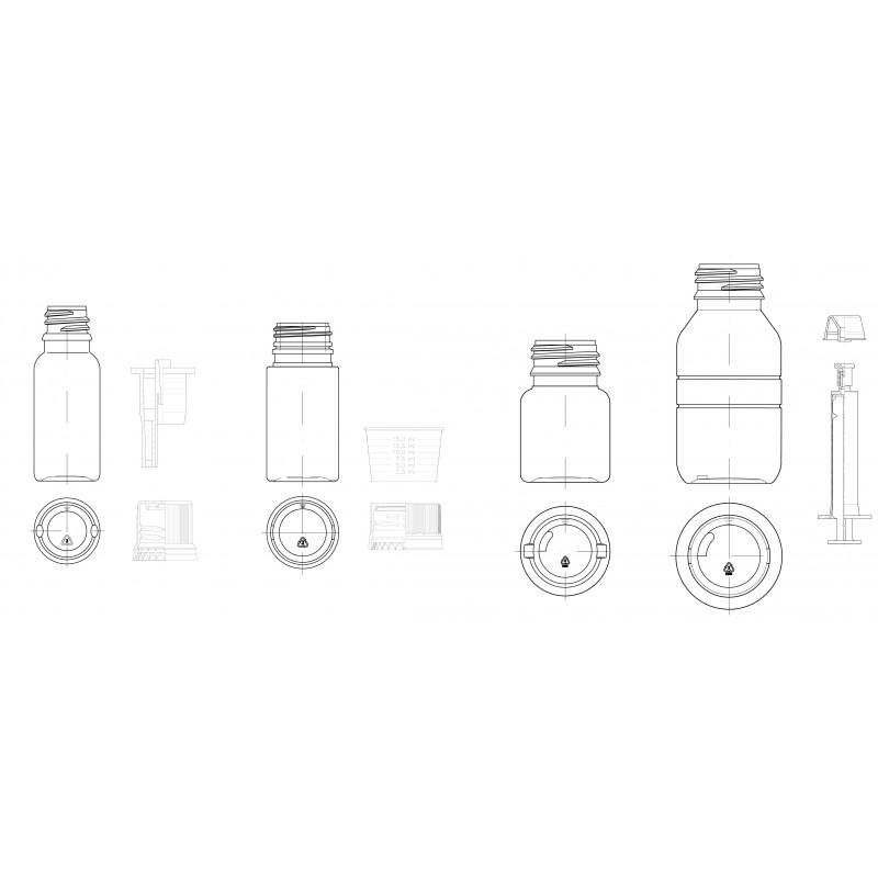 Gerresheimer fabrica frascos farmacéuticos en polietileno.