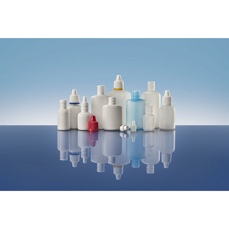 Sistemas Goteros Línea 15, cilíndrico, packaging plástico para productos farmacéuticos (5ml)
