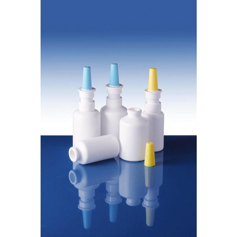 Sistemas snap on, pump spray, packaging plástico para productos farmacéuticos (30ml)