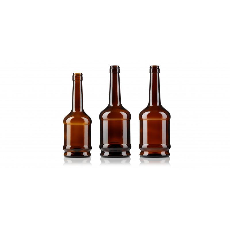 Spirit bottles made of moulded glass (500ml)