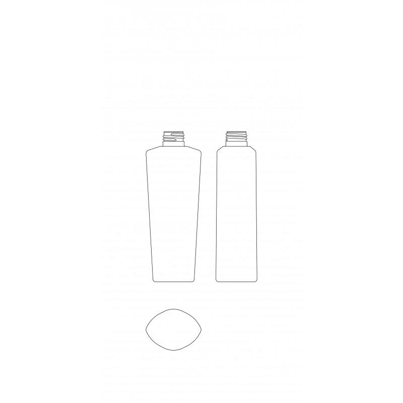 Drawing of FI bottle