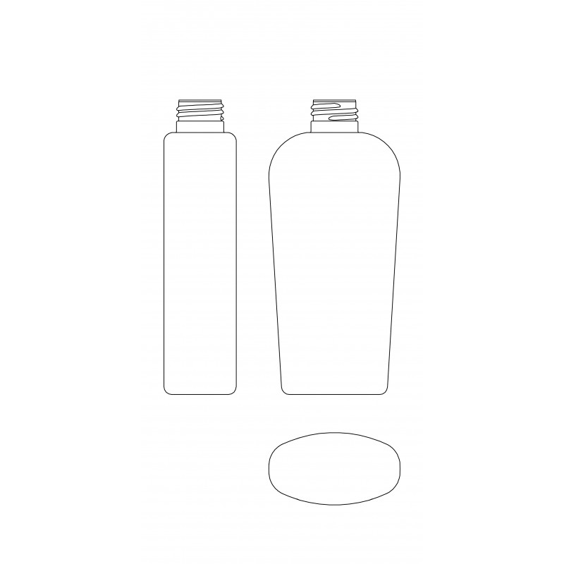 Drawing of GAMMA bottle