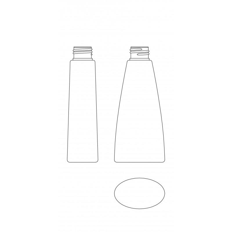 Drawing of LAMBDA bottle