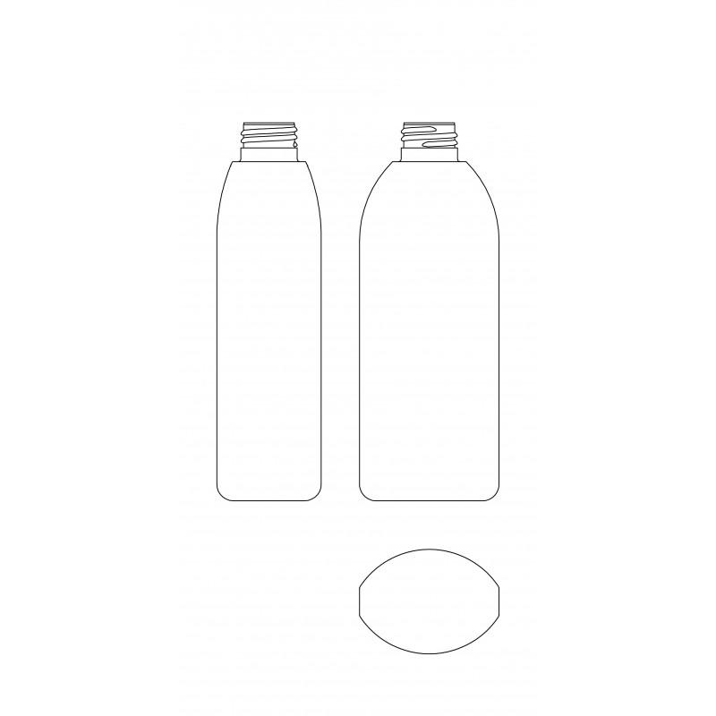 Drawing of JI bottle