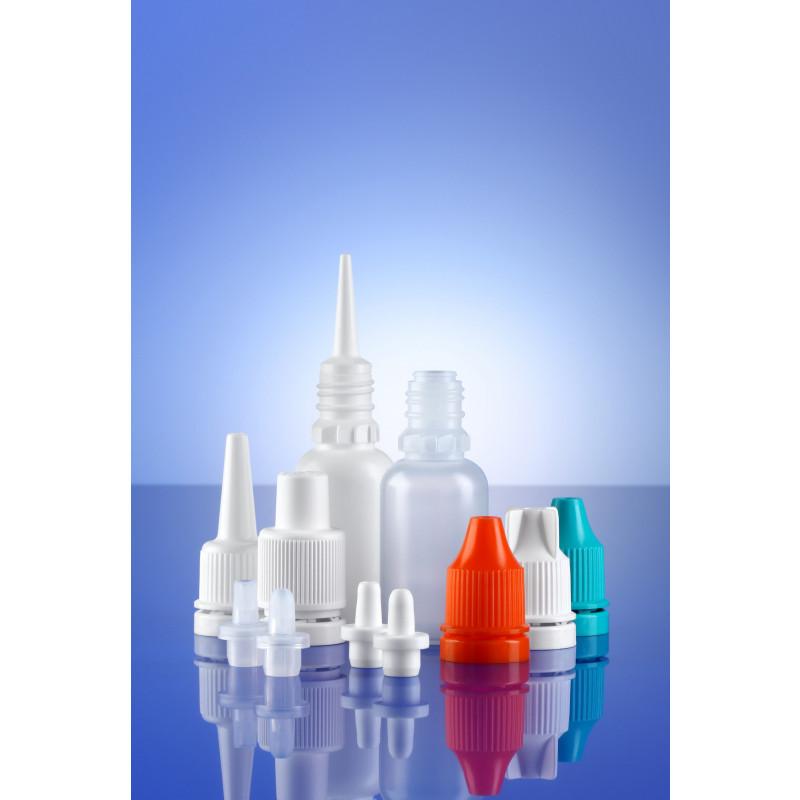 Accessoires for dropper bottles System A plastic bottles for ophthalmics