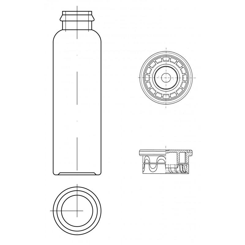 Gerresheimer produz frascos farmacêuticos de plástico PET.