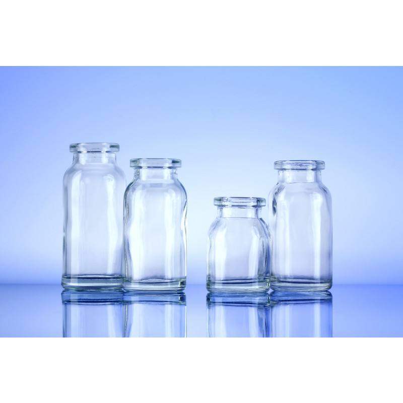 Type III bottles Eros made of moulded glass for pharmaceutical products