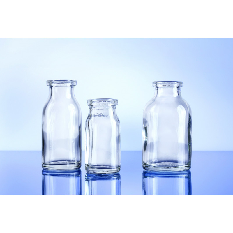 Type III bottles Galaxy made of moulded glass for pharmaceutical products