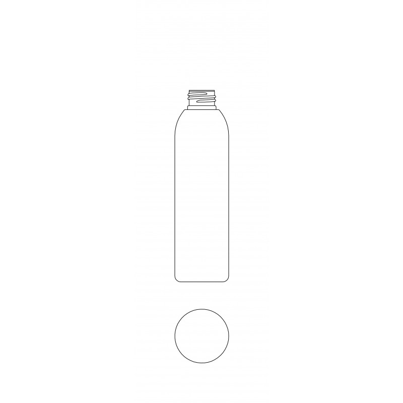 Drawing of RO bottle