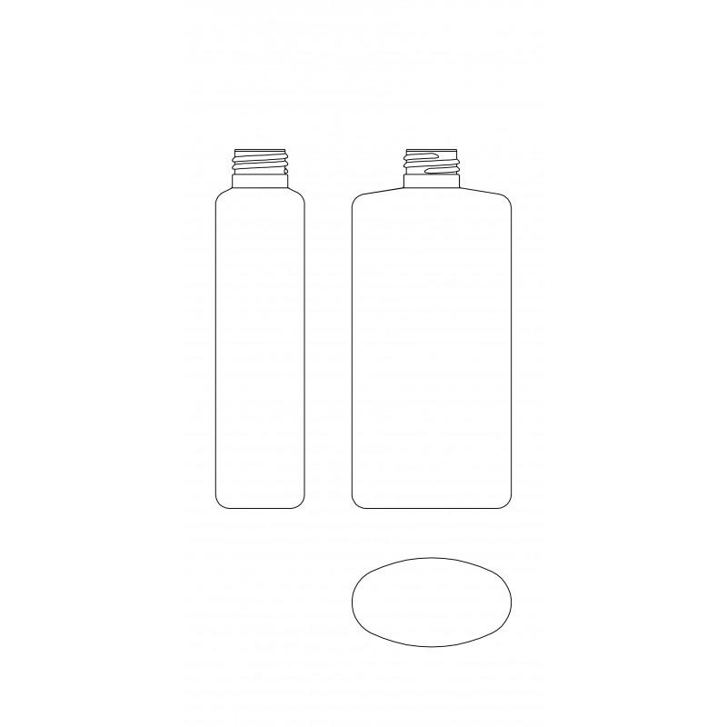 Drawing of TAU bottle