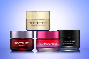 (Revitalift Laser X3, Age Perfect cell renaissance, Skin Perfection, Youth Code Night von L'Oréal)