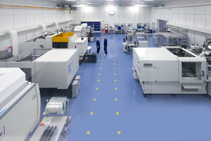 Clean room production Small series Development samples Injection molding Plastic Clinical sample