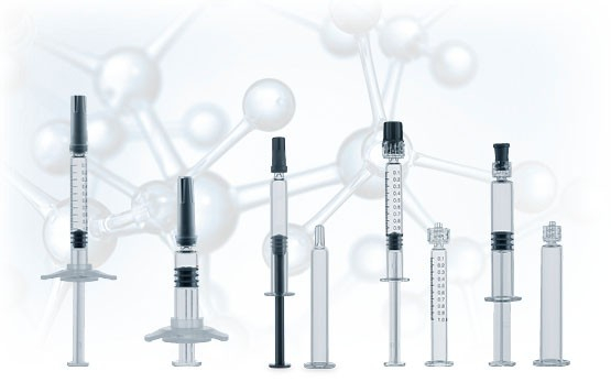 Syringes for sophisticated drug products