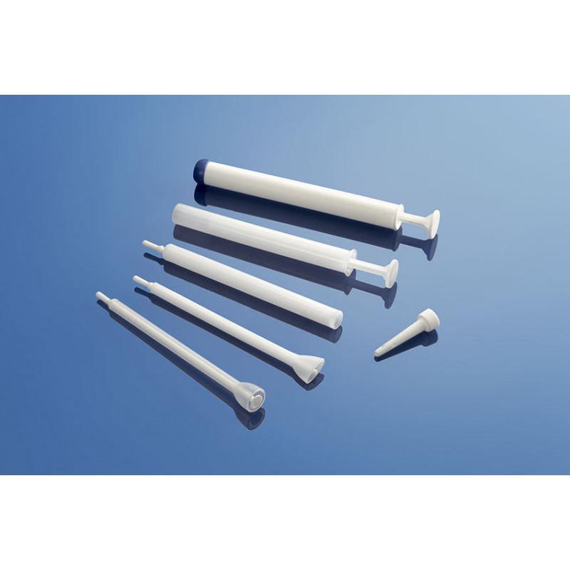 Adaptador plástico para packaging farmacéutico