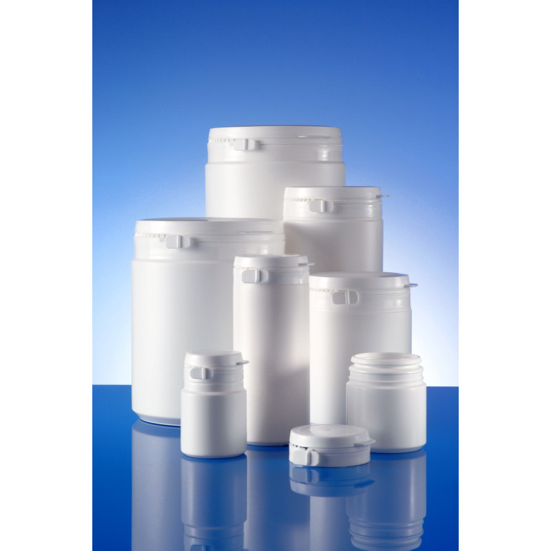 Cap or closure for Duma® Standard plastic container (pharmaceutical packaging) for solids