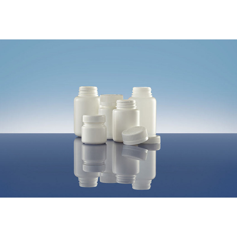Frascos Polietileno TI 33 inviolable, packaging plástico para productos farmacéuticos (100ml)