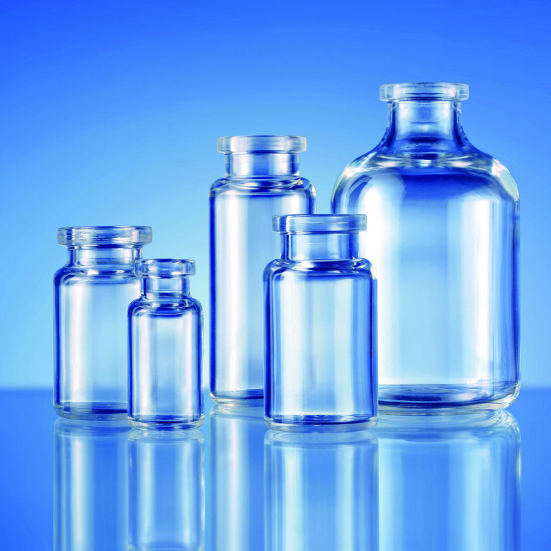 Monolayer COP vials (pharmaceutical packaging)
