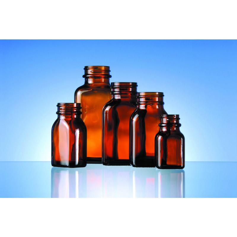 Shelf line S/N blake bottles made of moulded glass for pharmaceuticals