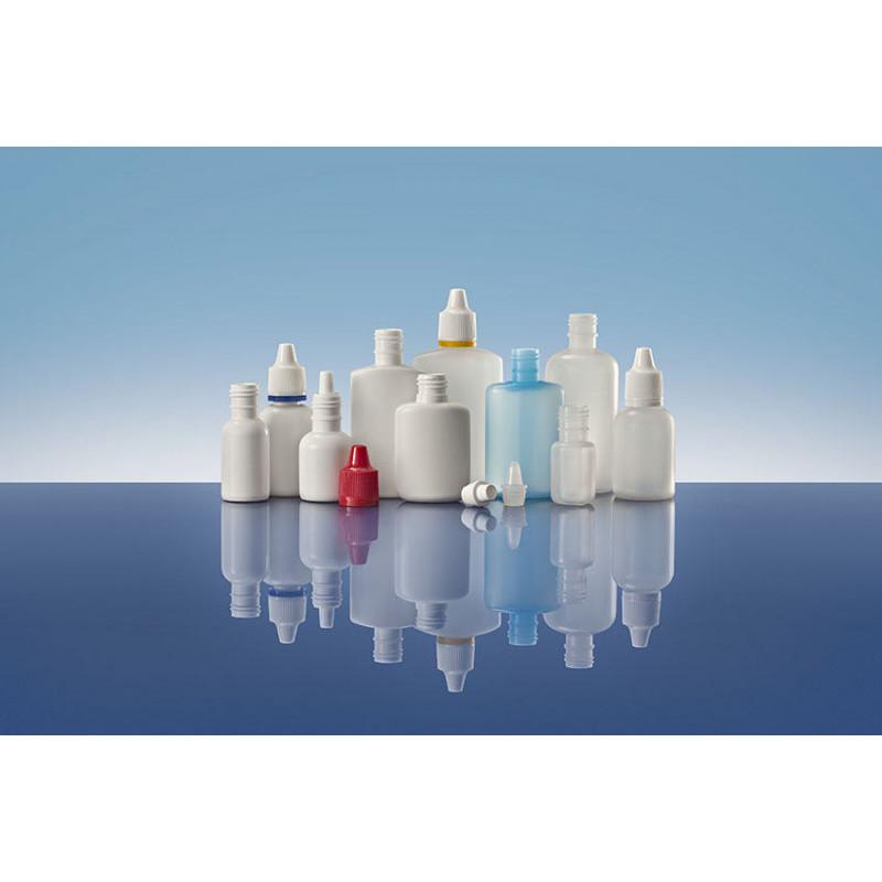Sistemas Goteros Línea 15, cilíndrico, packaging plástico para productos farmacéuticos (20ml)