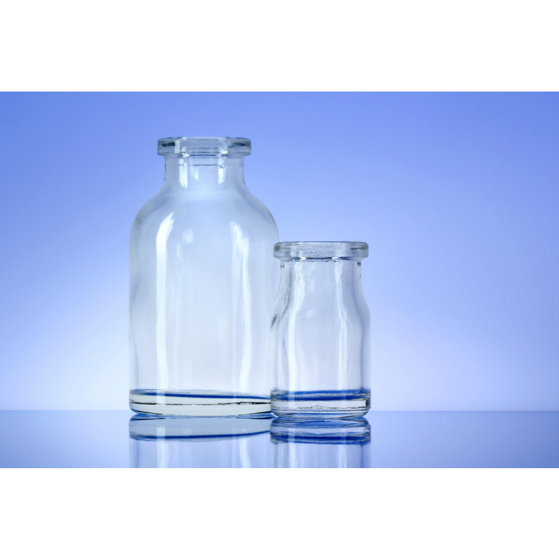 Type III bottles Atlas made of moulded glass for pharmaceutical products