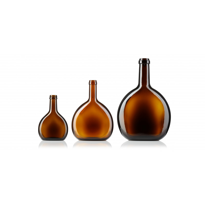 Wine bottles made of moulded glass (750ml)