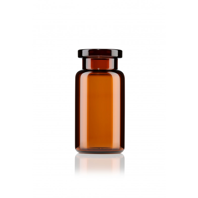 ISO vial made of amber glass for pharmaceuticals_300dpi
