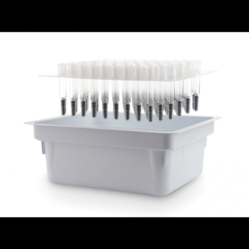 Gx RTF® ClearJect® Polymer-Nadelspritze 2,25 ml werden in Nest und Tub verpackt.