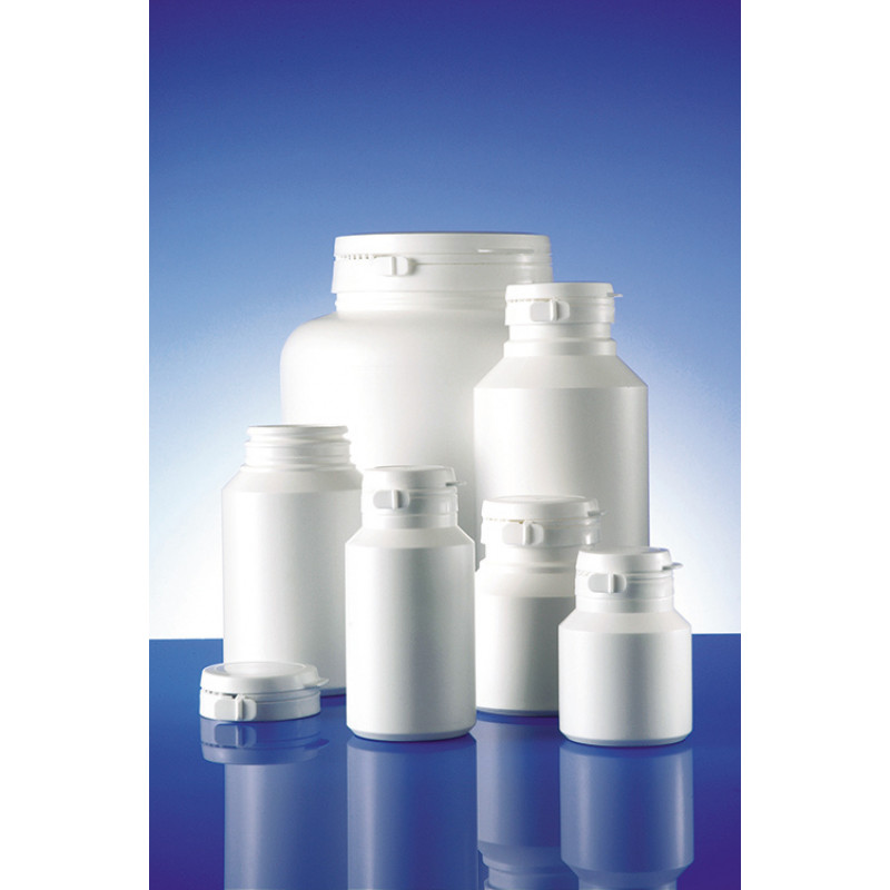 Duma® Standard plastic container for solid pharmaceuticals