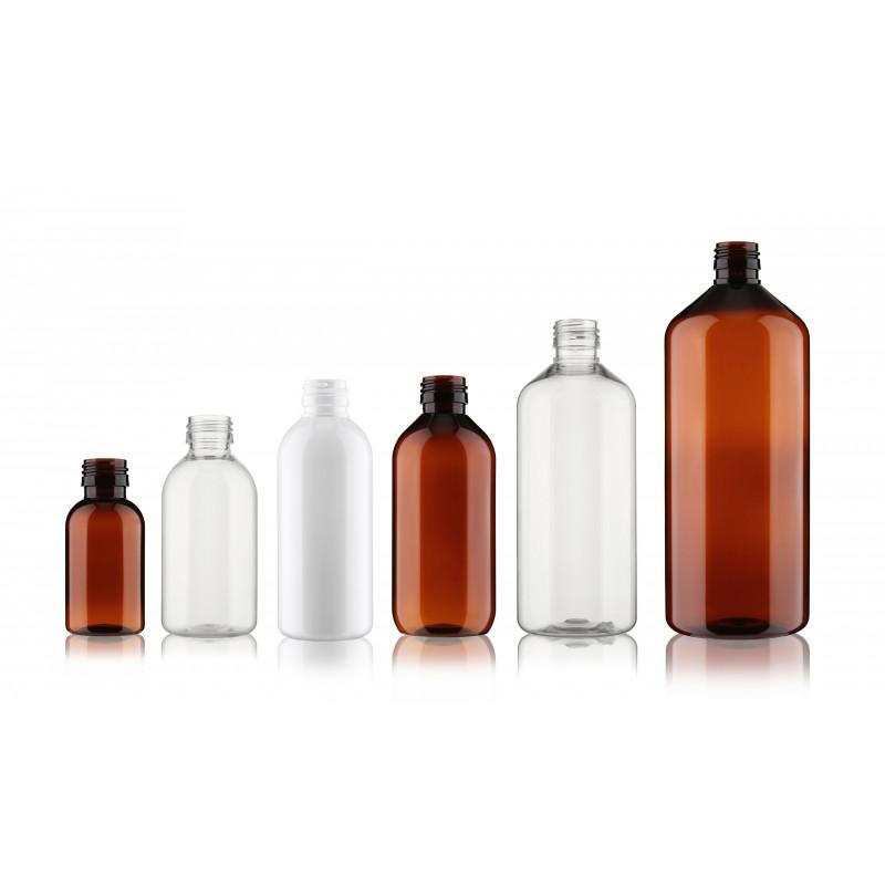 ST Flasche mit Flaschenhals PP28