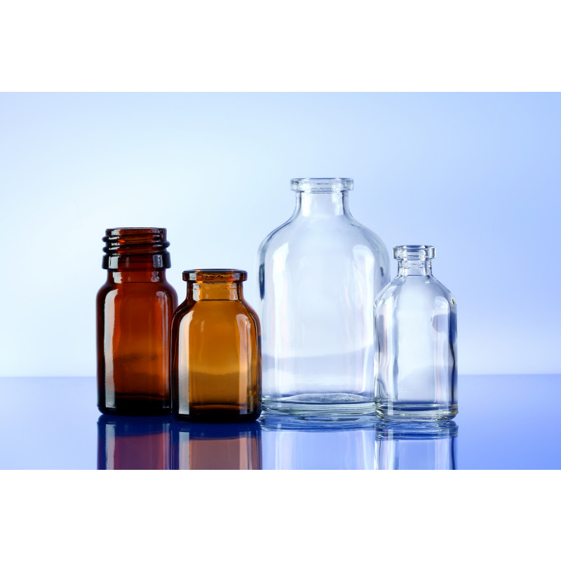 Type I bottles, flint and amber, for pharmaceuticals_300dpi