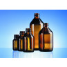 Syrup glass combi bottle made of moulded glass for pharmaceutical use